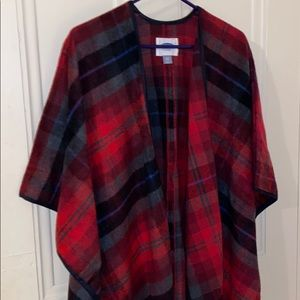 Old Navy winter poncho/cape
